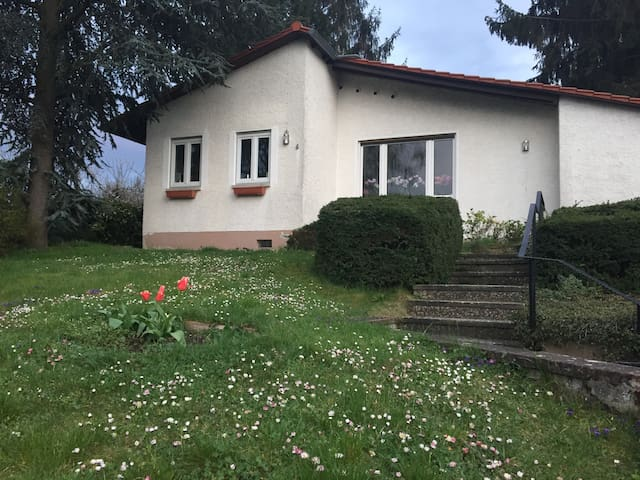 Private quiet room in house w.garden in Hechtsheim - Mainz - House