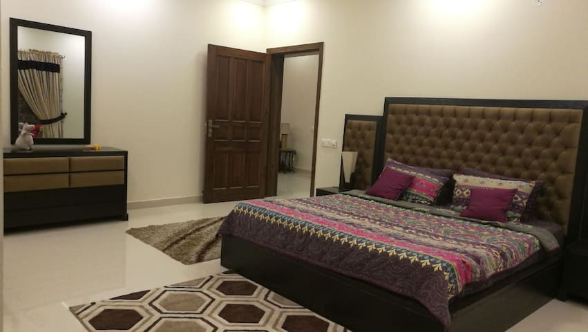 Furnished 2 bed upper portion in Bahria Town