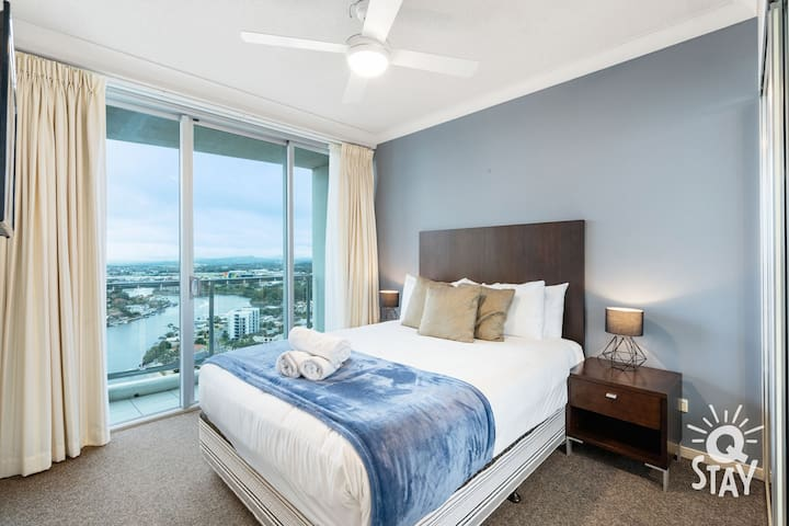 Bedding configuration and furniture may vary from what is presented on the photos