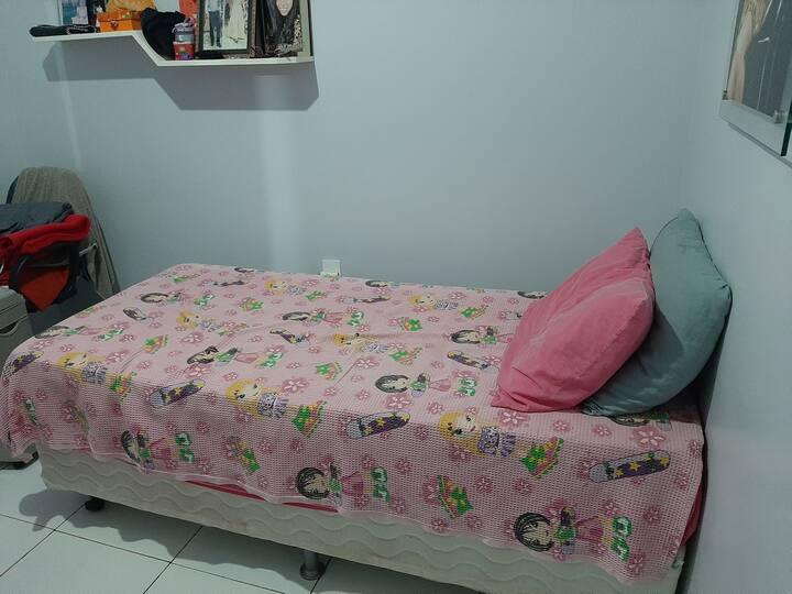 Um quarto aconchegante