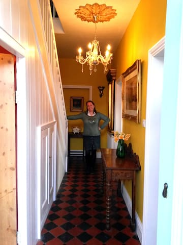 Louise, your host