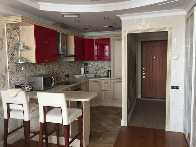 The apartment is close to Moscow