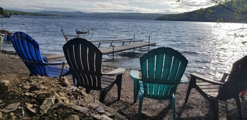 Private Keuka Lake-front Chalet   Stunning Views
