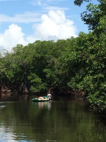 Casa em maracaipe na beira do mangue