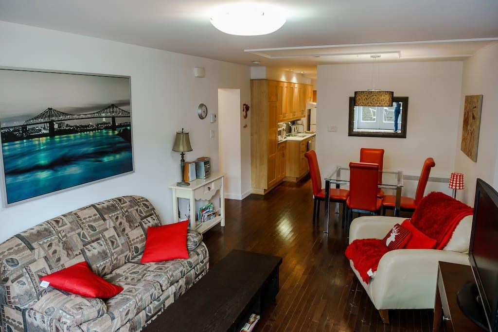 joli logement tout quip appartements louer