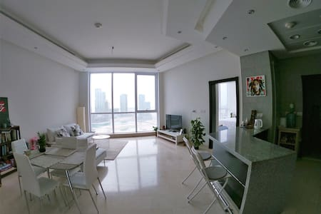 Luxury 1B apartment with views of the sunrise