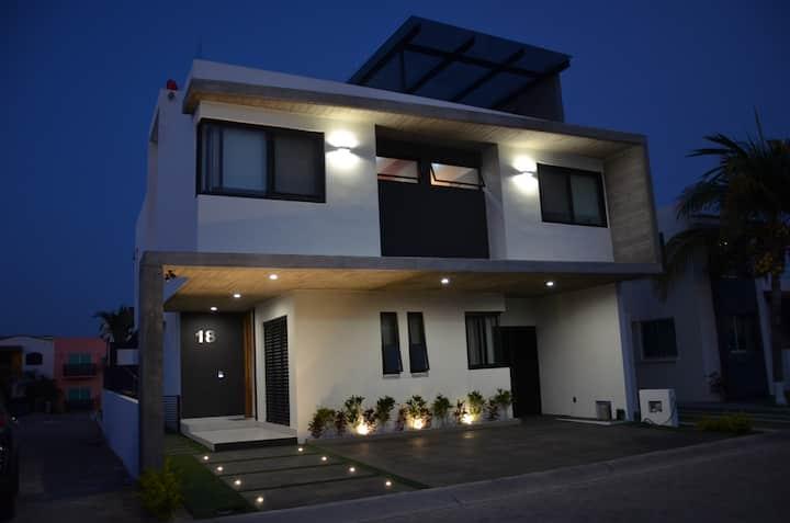 Luxury home in Nuevo Vallarta close to the beach