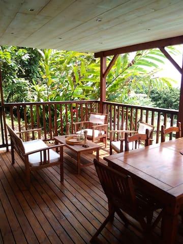 Villa Bleu Caraïbe - Saint-Pierre, Martinique - บ้าน