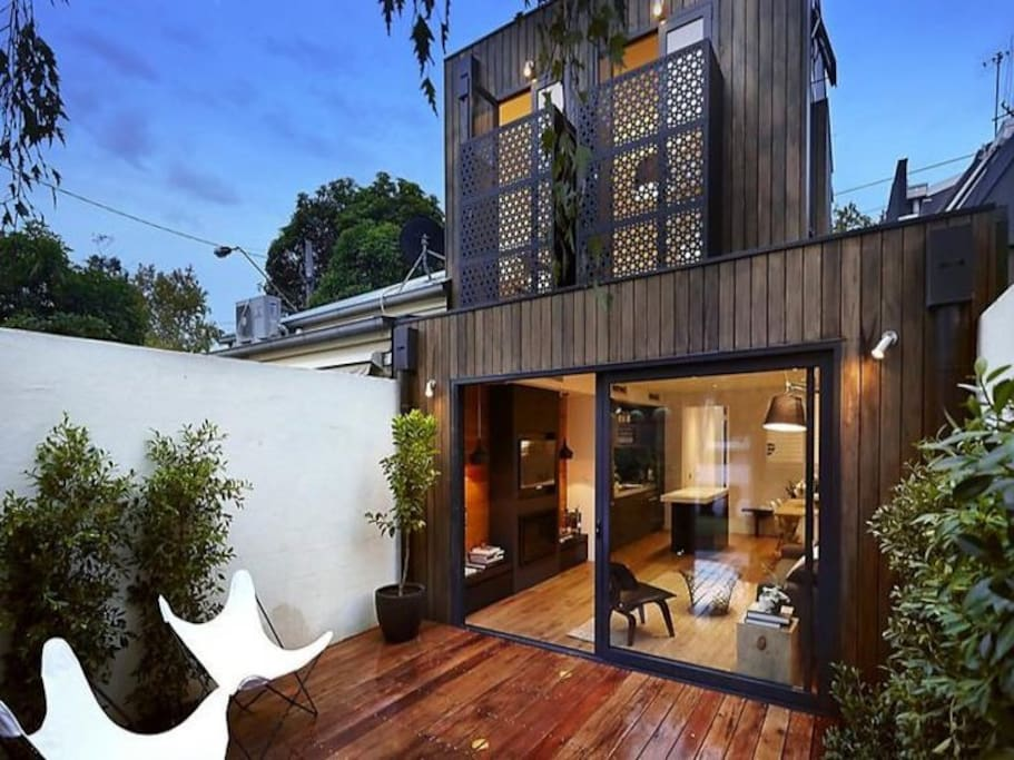Luxury house in south melbourne maisons louer south - Maison entrepot melbourne en australie ...