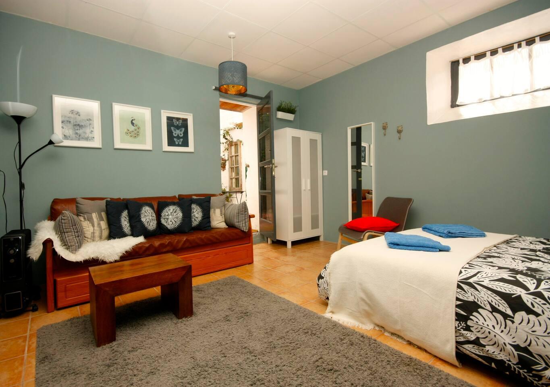 Bedroom cum Living Room