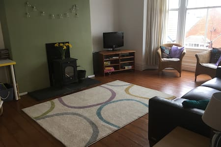 Huge and homely maisonette in the centre of town - Saltburn-by-the-Sea - 公寓