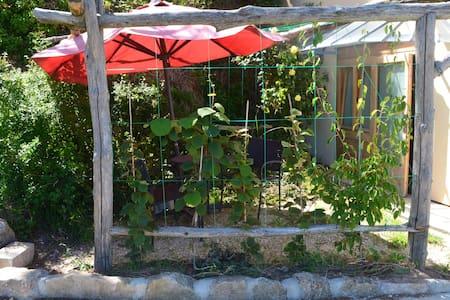 Studio plein sud avec terrasse - Saint-Romain-de-Lerps