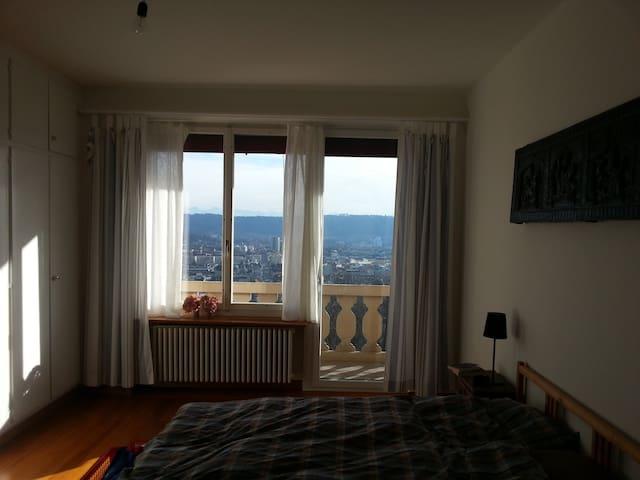 Chambre avec une vue