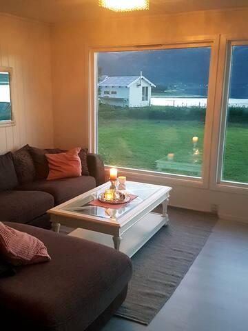 Villa ved stranden - nært Lofoten og Vesterålen