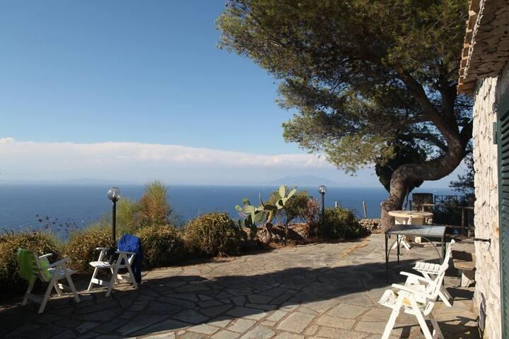 Villa privata con vista sul golfo ANACAPRI