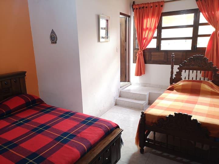 Casa Colonial Choachi Habitación 3 personas