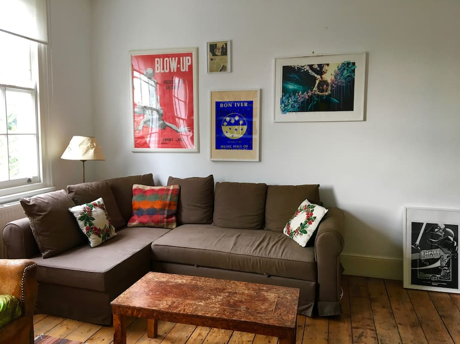 Front room - sofa bed.