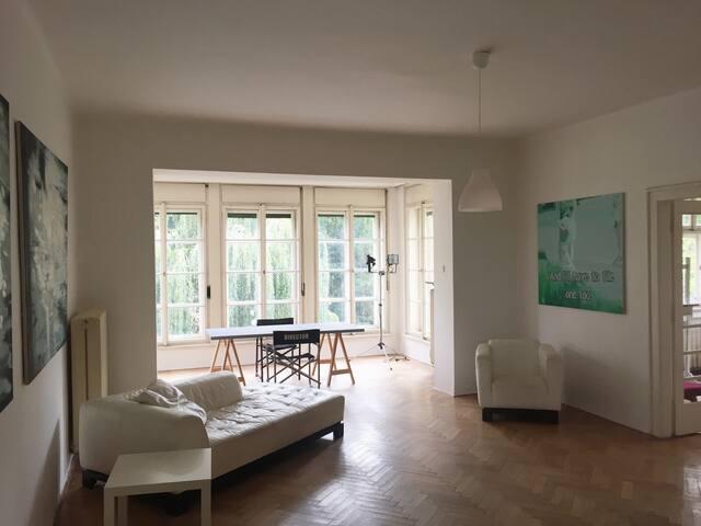 Sunny charming 2bedroom Apt. near Prague Castle