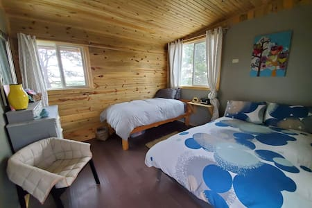 Off Grid Eco-Cabin#1 inside Wild Mustang Sanctuary