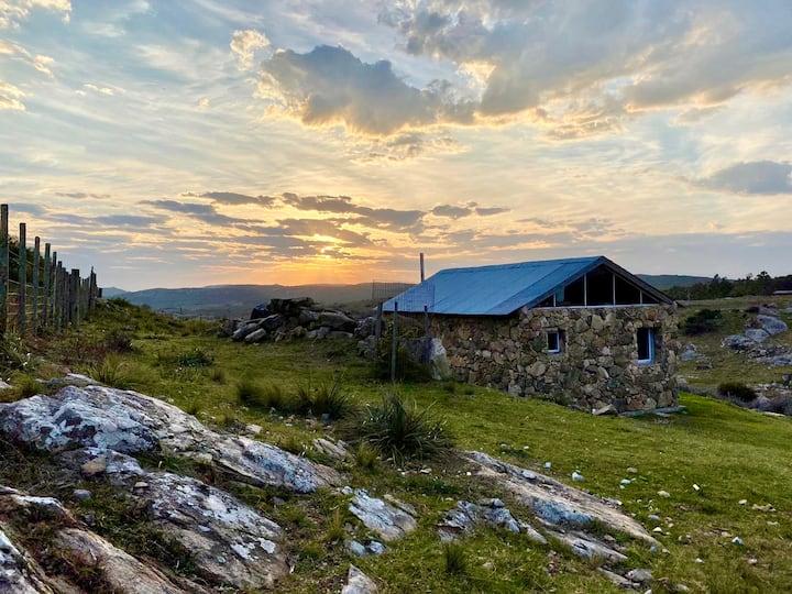 """Cabaña """"amanecer en las sierras"""""""