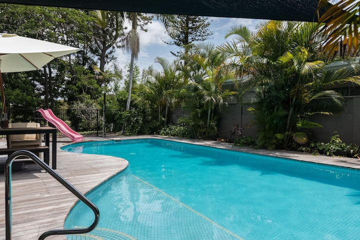 Large modern private self-contained suite + pool!