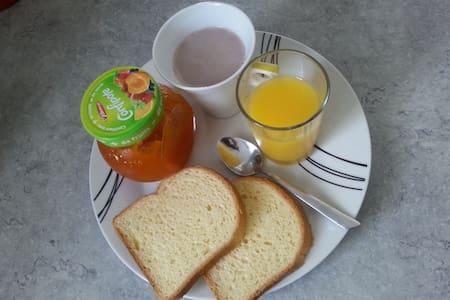 Bed &BREAKFAST(petit-déjeuner) à la campagne *****