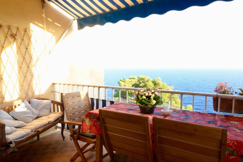 balcon vue panoramique
