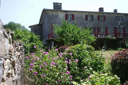 Rustic and spacious French escape with pool - Montredon-Labessonnié
