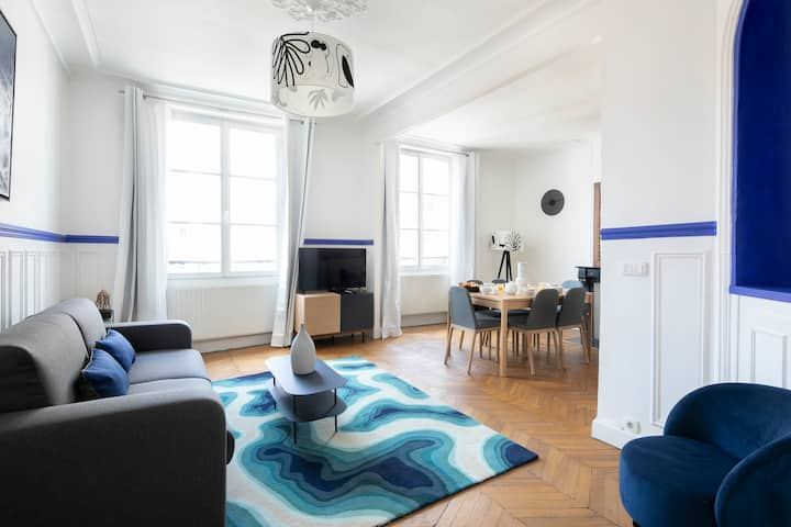 🥐 Magnificent 3BDR in the heart of Paris - 6 p ☀️