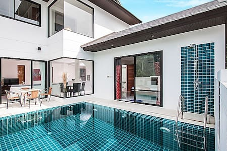 3 Bed Villa ~ Walk to Beach (#13) - Ko Samui