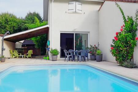 Maison et piscine pour vous seul