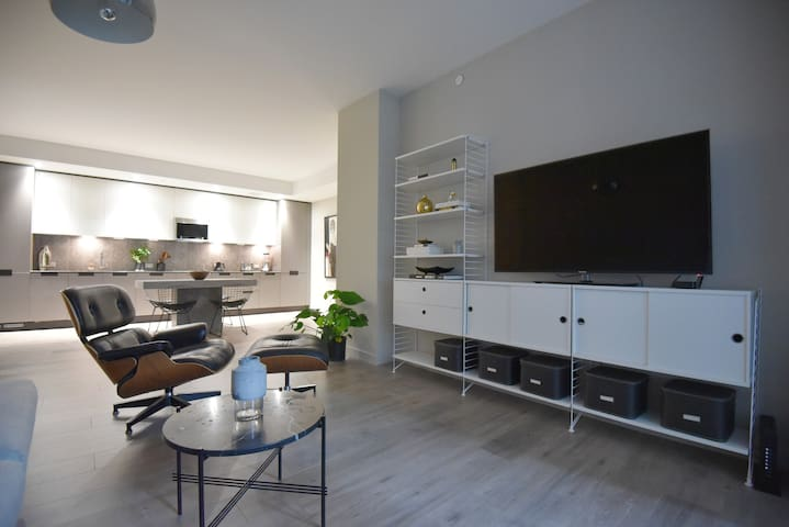Designer furniture in Living rom