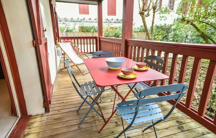 Superb apartment in the heart of Abatilles Arcachon for 4 p. with parking