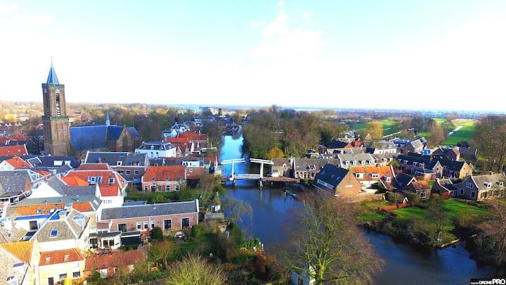 Prachtige bovenwoning nabij Utrecht en Amsterdam