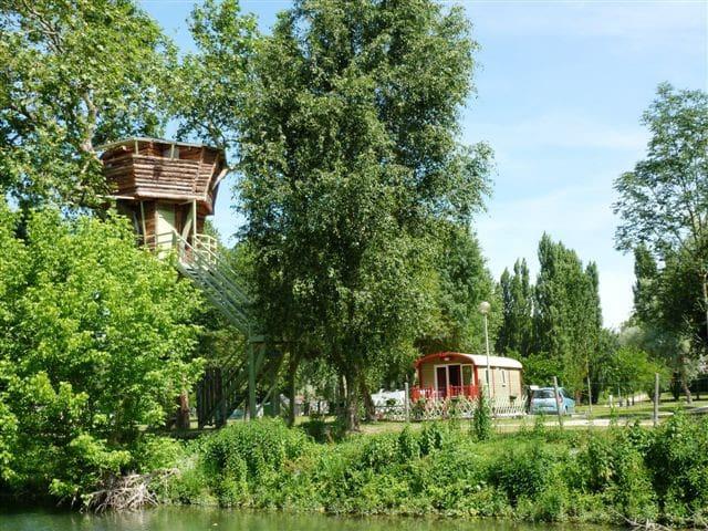 La cabane dans l'arbre