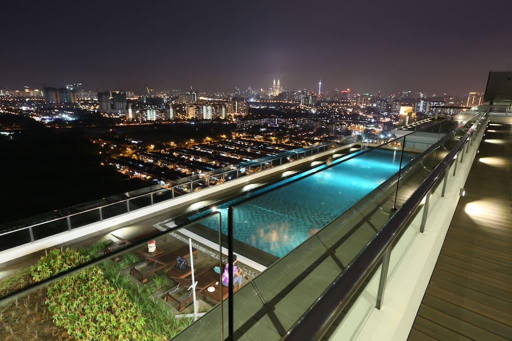 360 degree view of Kuala Lumpur Skyline