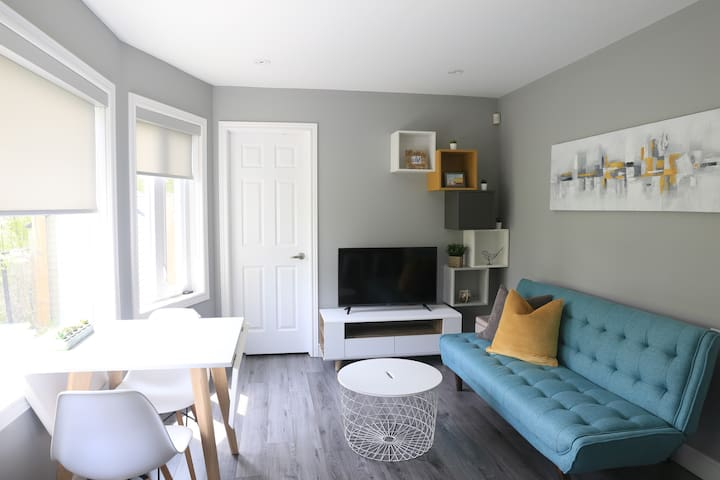Newly Renovated 2-Bedroom suite with Full Kitchen
