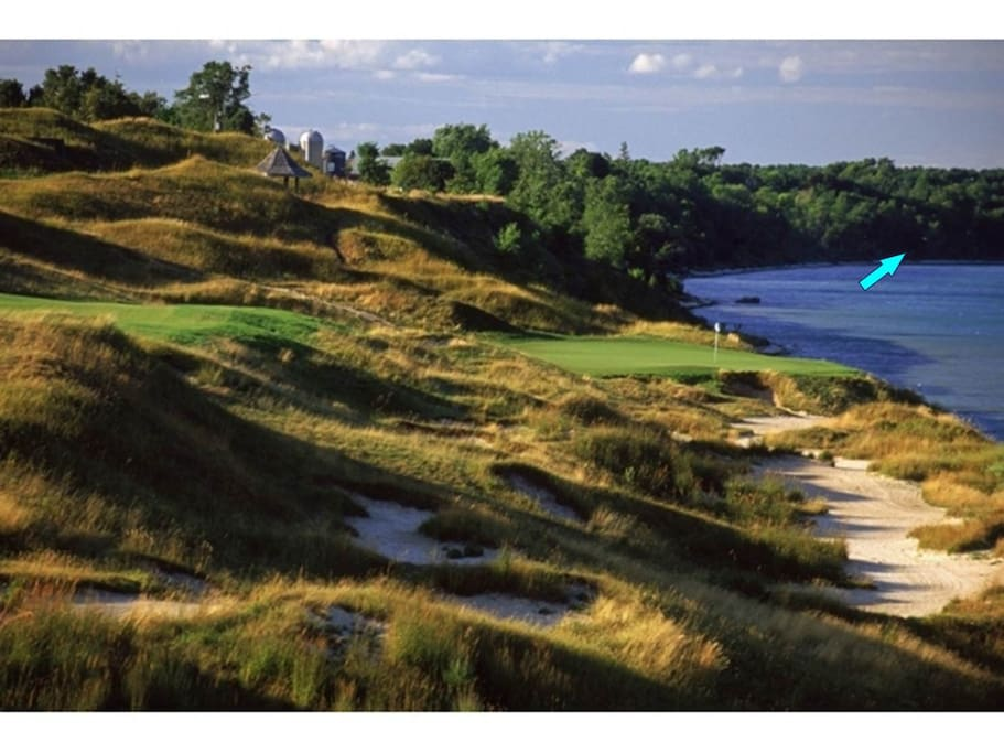 Only 3 minutes to your tee time at Whistling Straits
