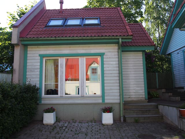 Small house in Viljandi city centre
