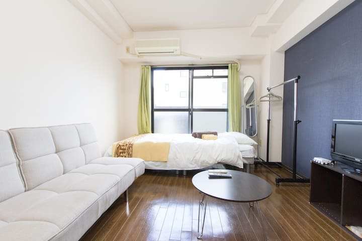 Center of Osaka, Dotonbori apartment for 3 people! - Chuo Ward, Osaka - Apartemen