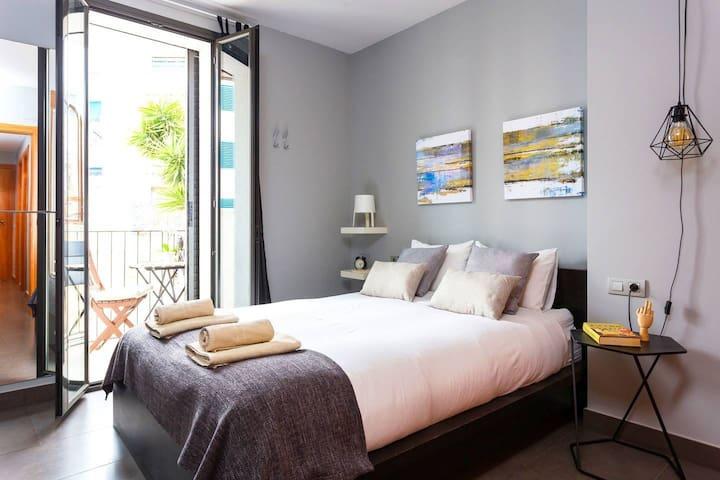 Beau appartement près de la plage-WIFI
