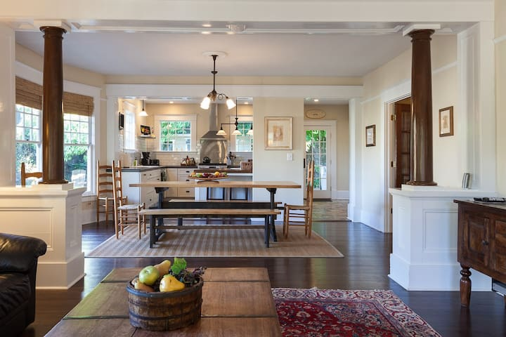 Cascade Chic - Traditional craftsman home with stylish updates for modern feel!