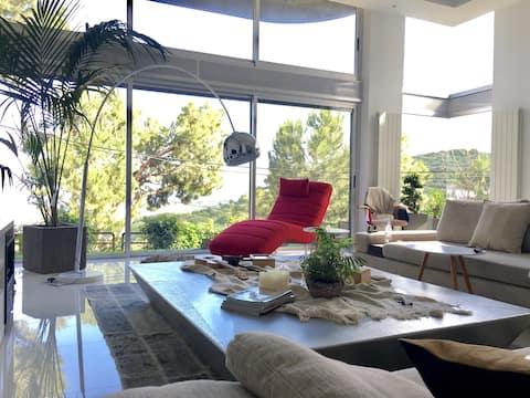 Semi-Duplex panoramic loft apart/champville - Metn