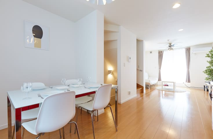 Shinagawa 5min|Max9|☆PRIVATE HOUSE☆|FreeWIFI|A