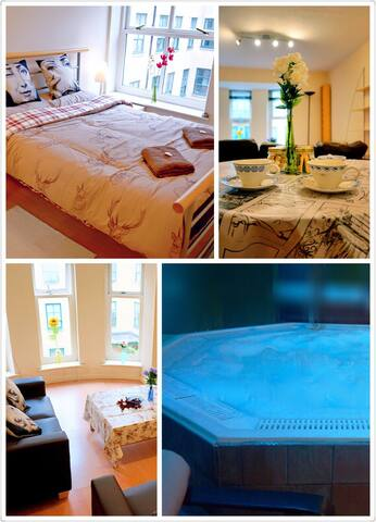Lovely Apartment with Gym and Pool - Manchester - Byt