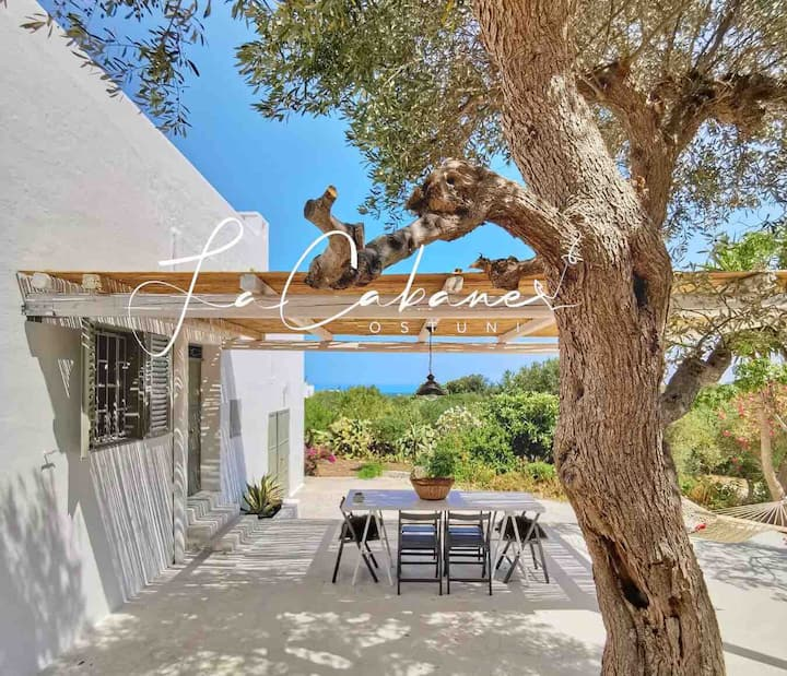 La CABANE OSTUNI Sea View Holiday Home