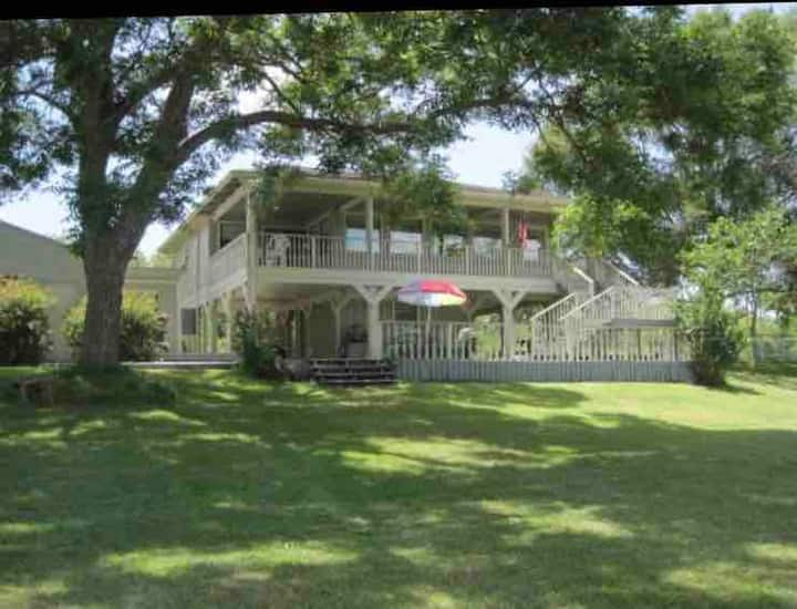 Cute Riverfront Home on 1/2 acre