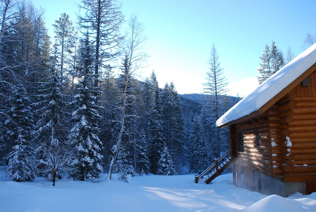 Winter at the Astrid Cabin