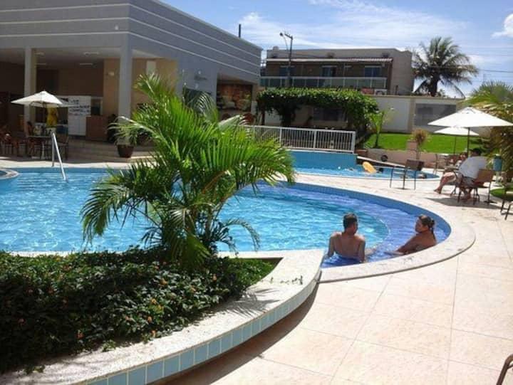 Apartamento no Resort Encontro das Águas