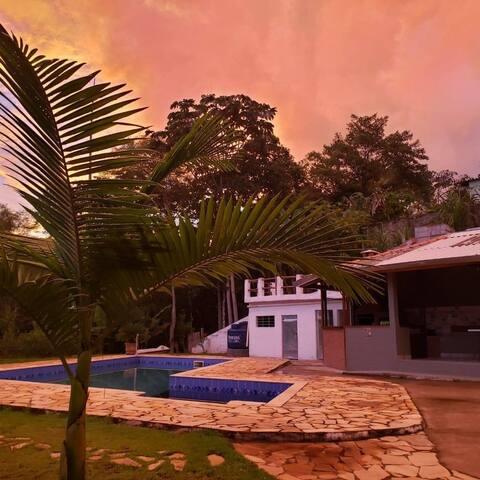 Chácara Paraíso Honório rústica de bom gosto